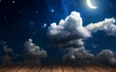 Geht der Mond, kommt das Holz in seine Kraft