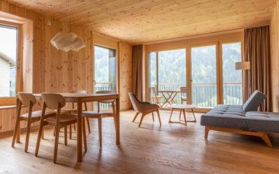Ferien in einem Holz100 Zimmer – Seminar-Hotel Kientalerhof