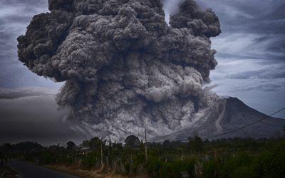 19. Oktober 2018: Vulkanasche als Wassersperrre?