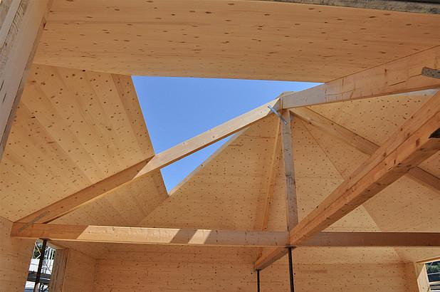 Neubau Büro Salzgeber Holzbau im Kt. GR -18063