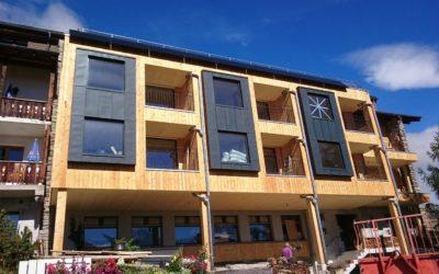 Baustelleneinblick – Hotel Waldhaus Bettmeralp