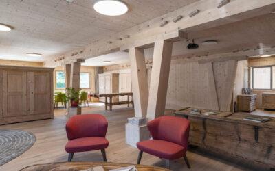 Ein Raum für besondere Momente – Holz100 Träff zum Mieten