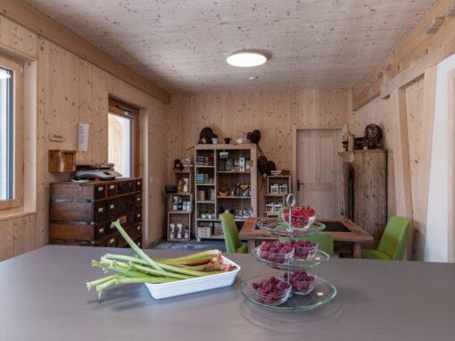 Lädeli + Kafi bei Holz100 Schweiz AG in Steinen