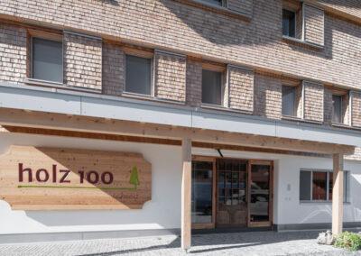 Wohn- & Gewerbehaus Holz100 Schweiz AG